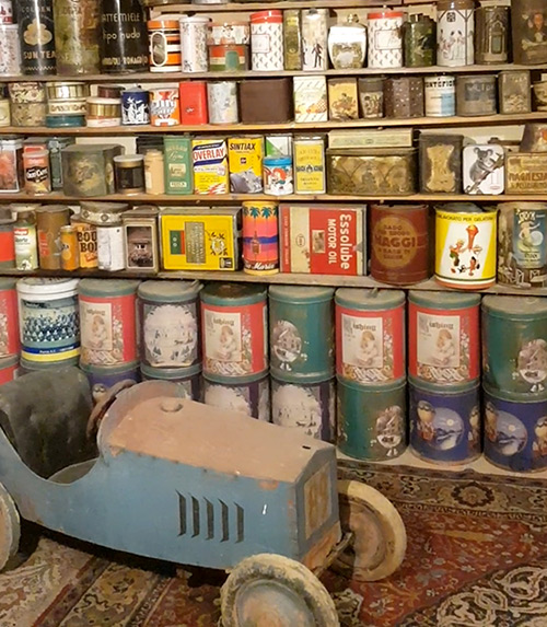latte Museo Ettore Guatelli