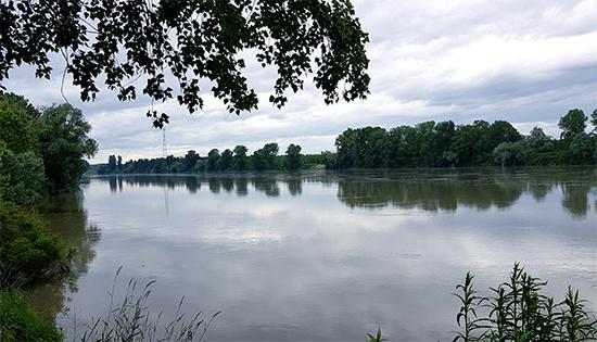 Il grande fiume Po